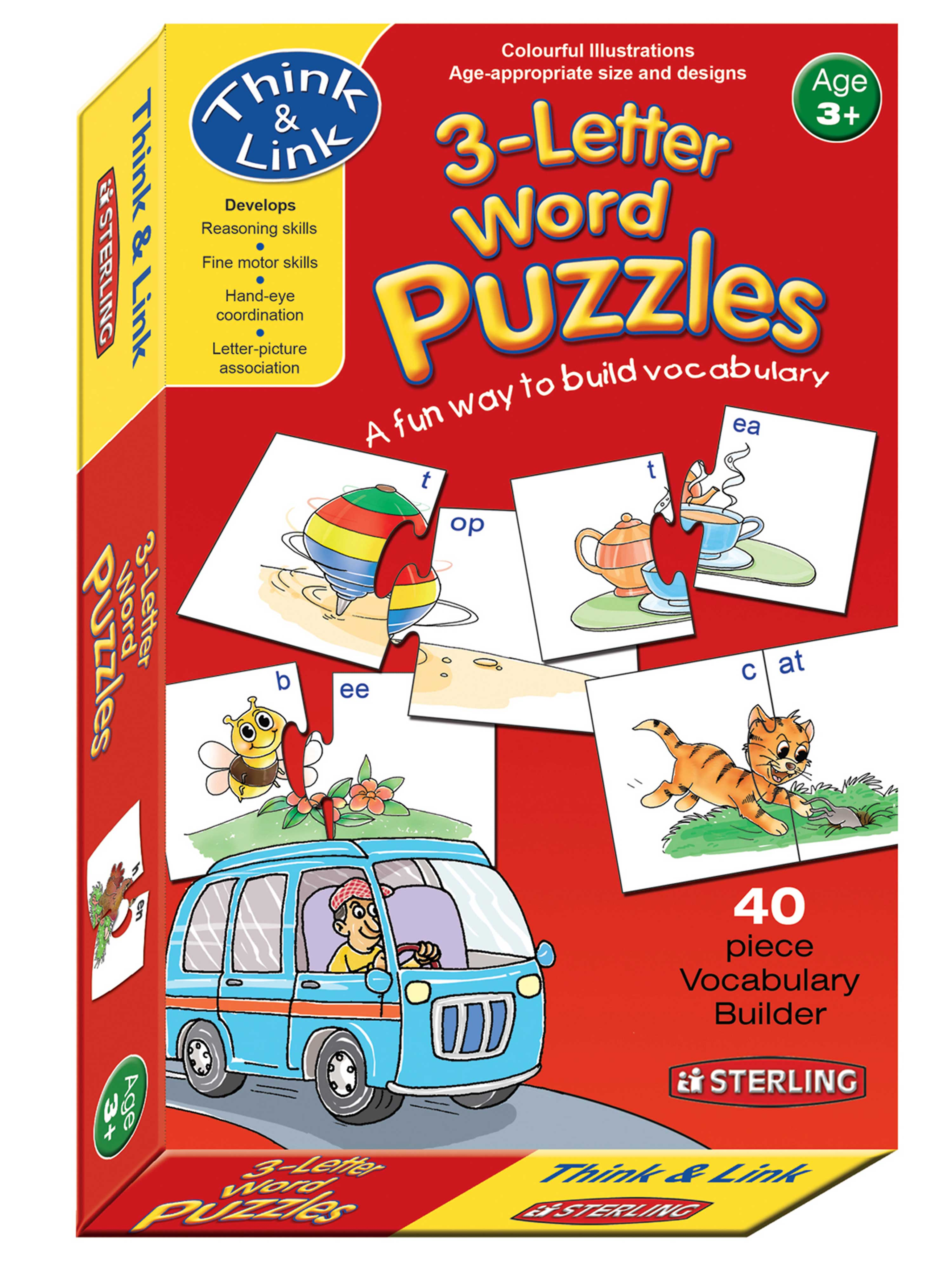 3-Letter Word Puzzles