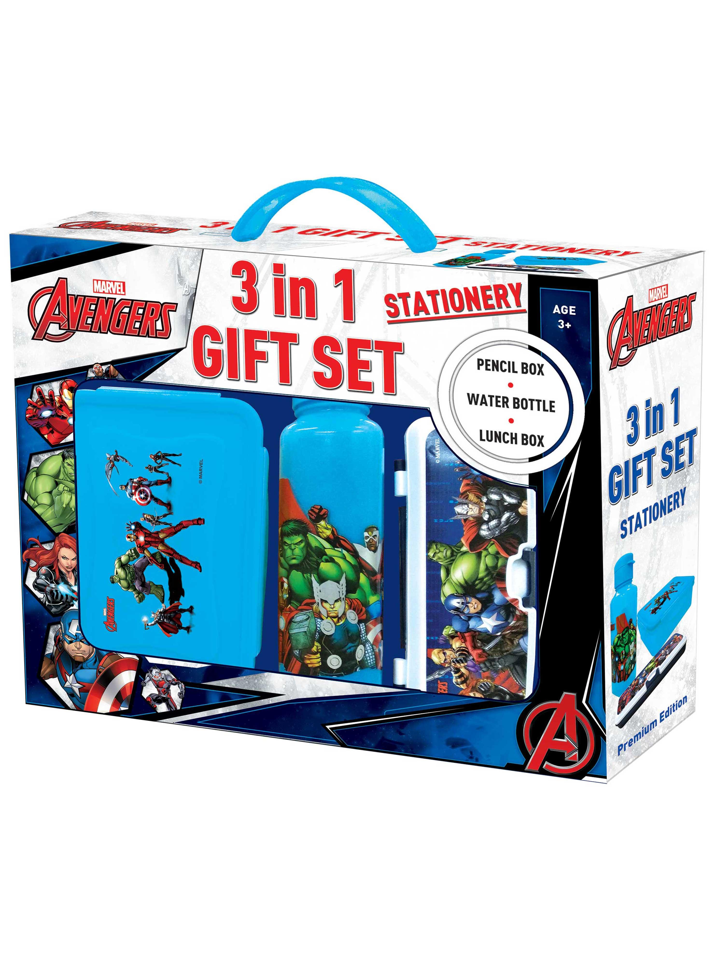 Marvel Avengers 3 in 1 Gift Set
