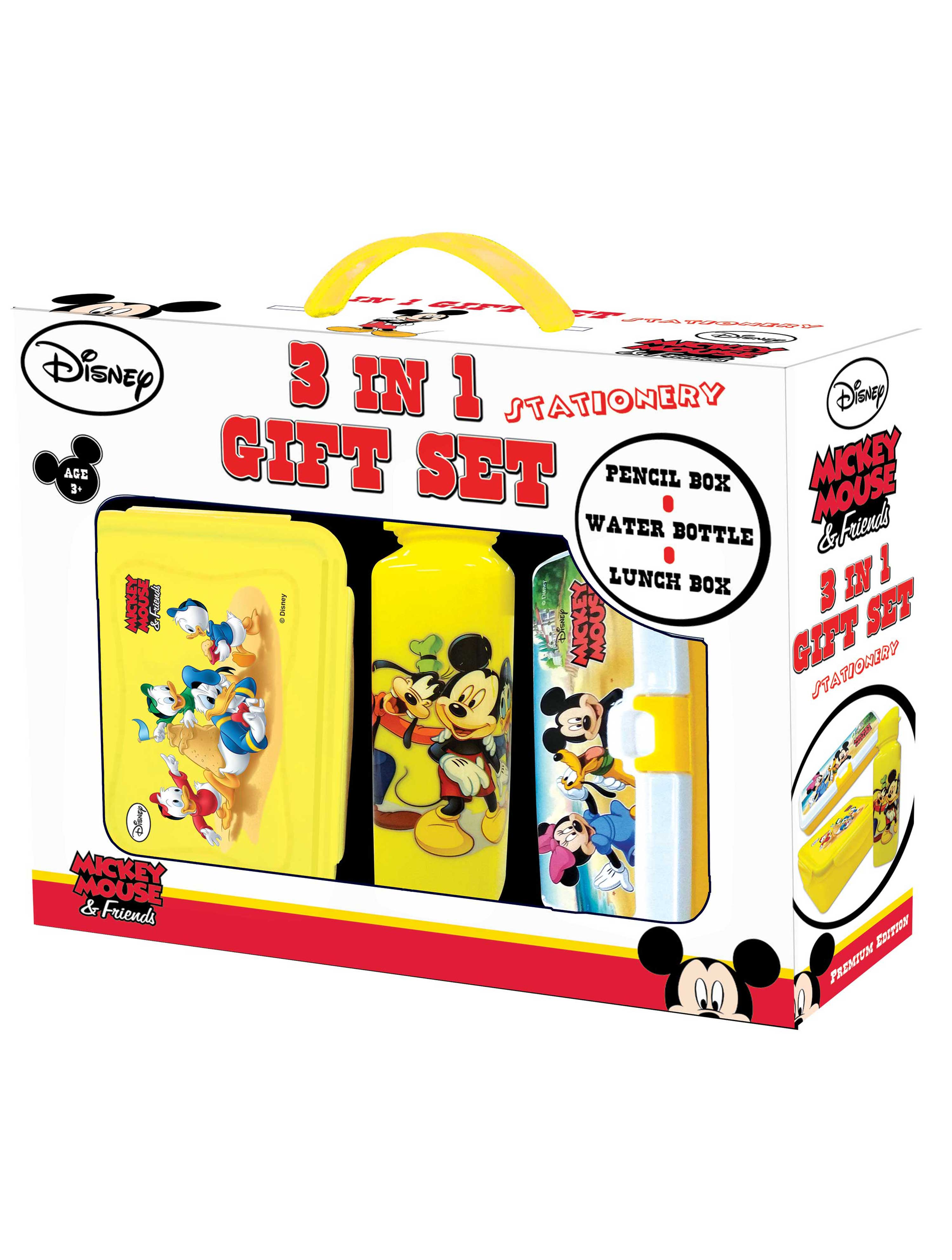 Disney Mickey Mouse 3 in 1 Gift Set