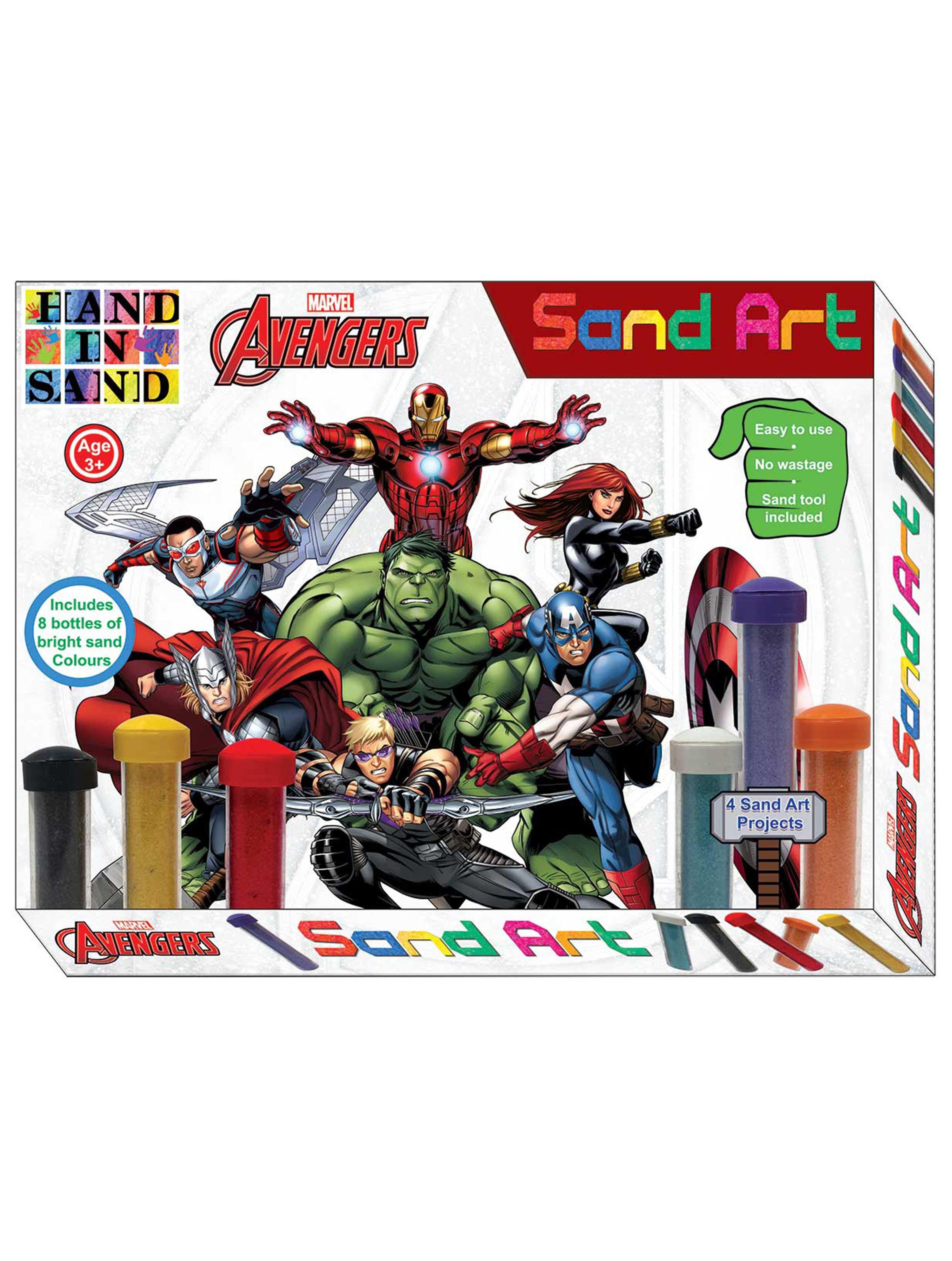 Avengers Sand Art