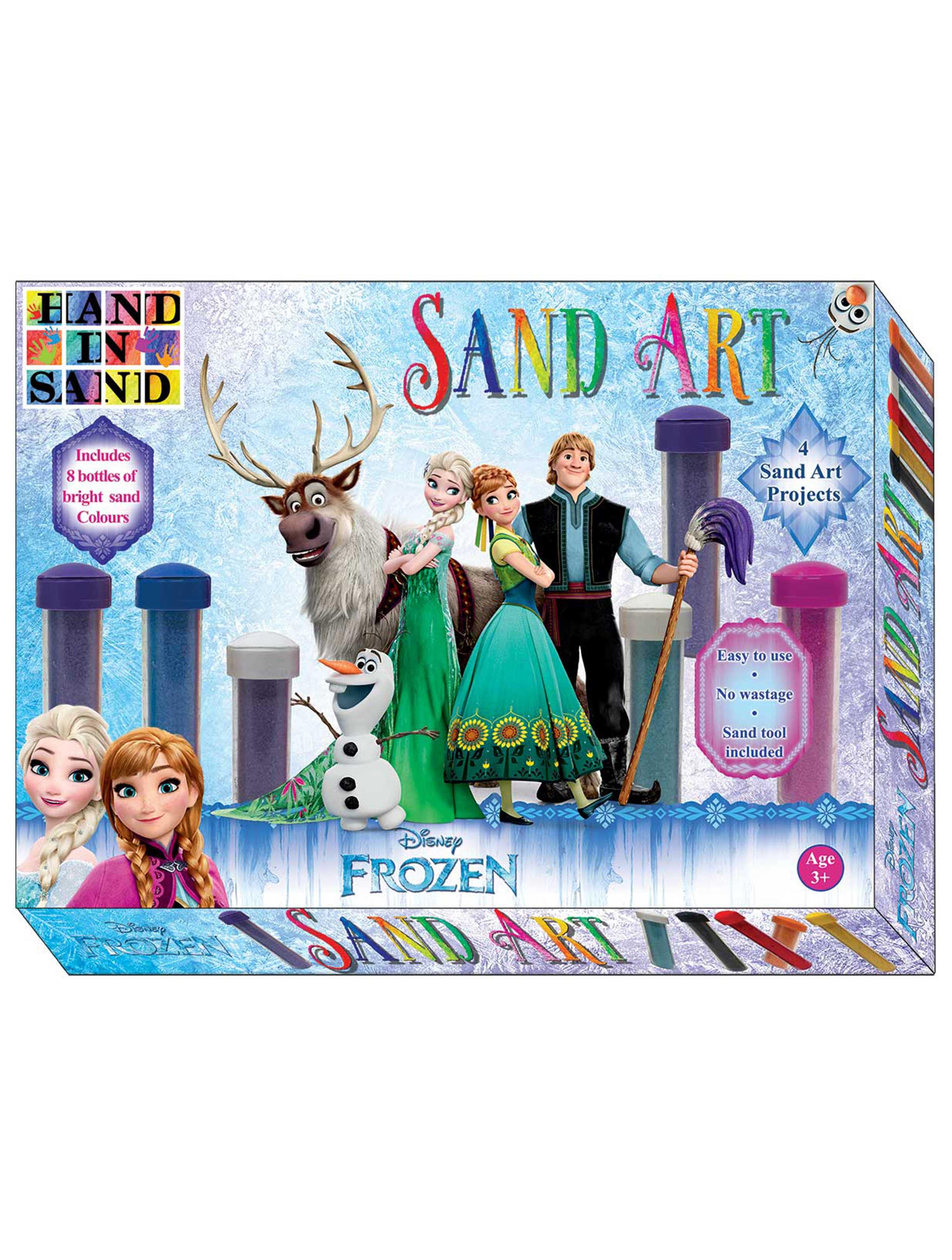 Frozen Sand Art