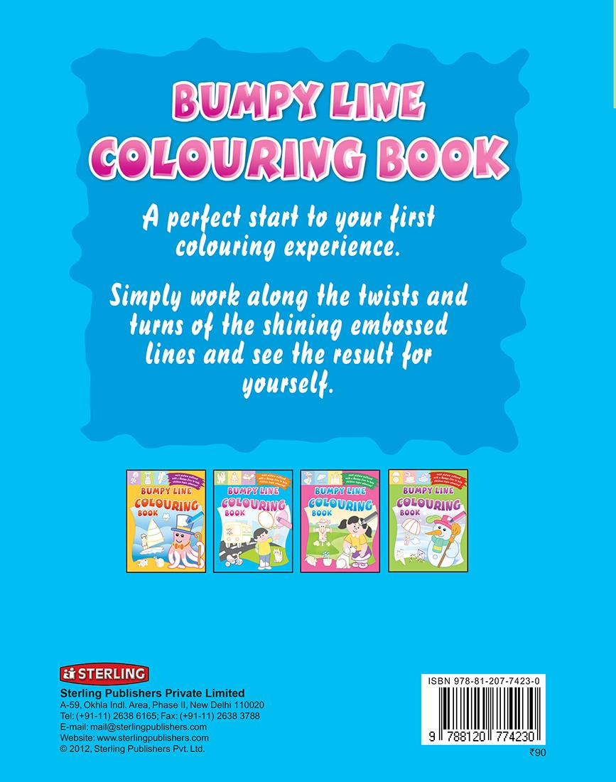 Bumpy Line Colouring Book
