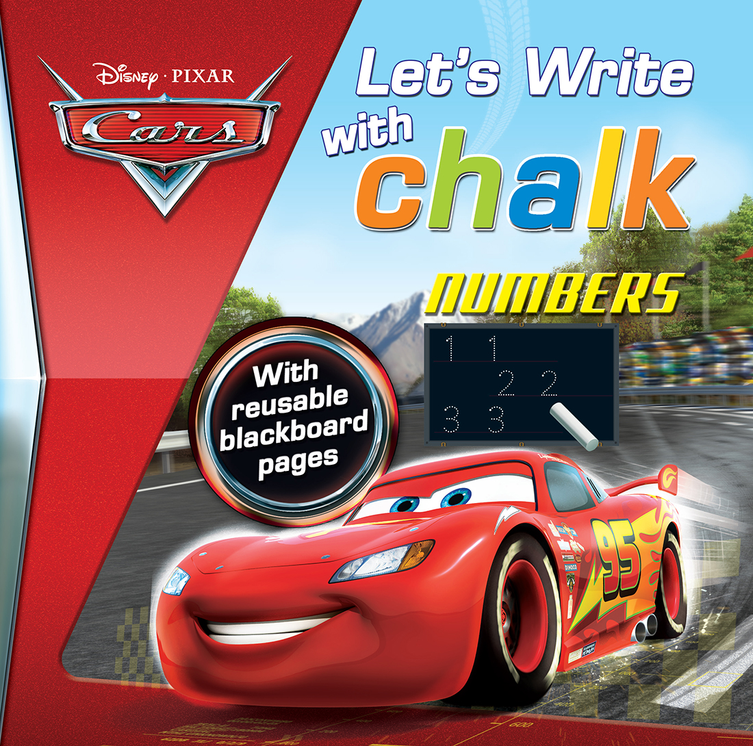 Cars Let's Write with Chalk