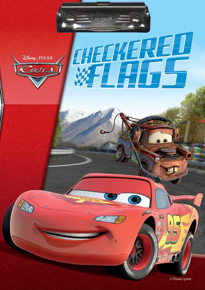 Disney Cars Clipboard