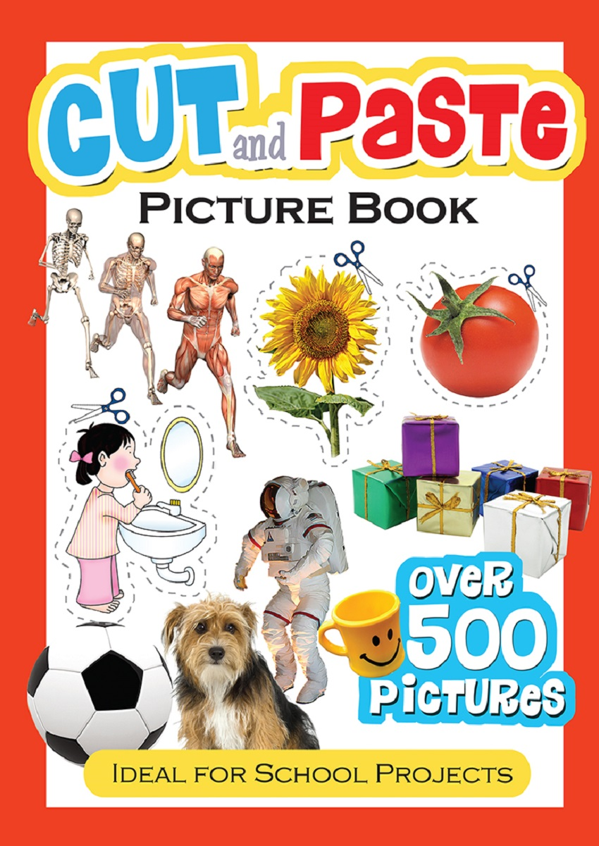 Cut and Paste Picture Book