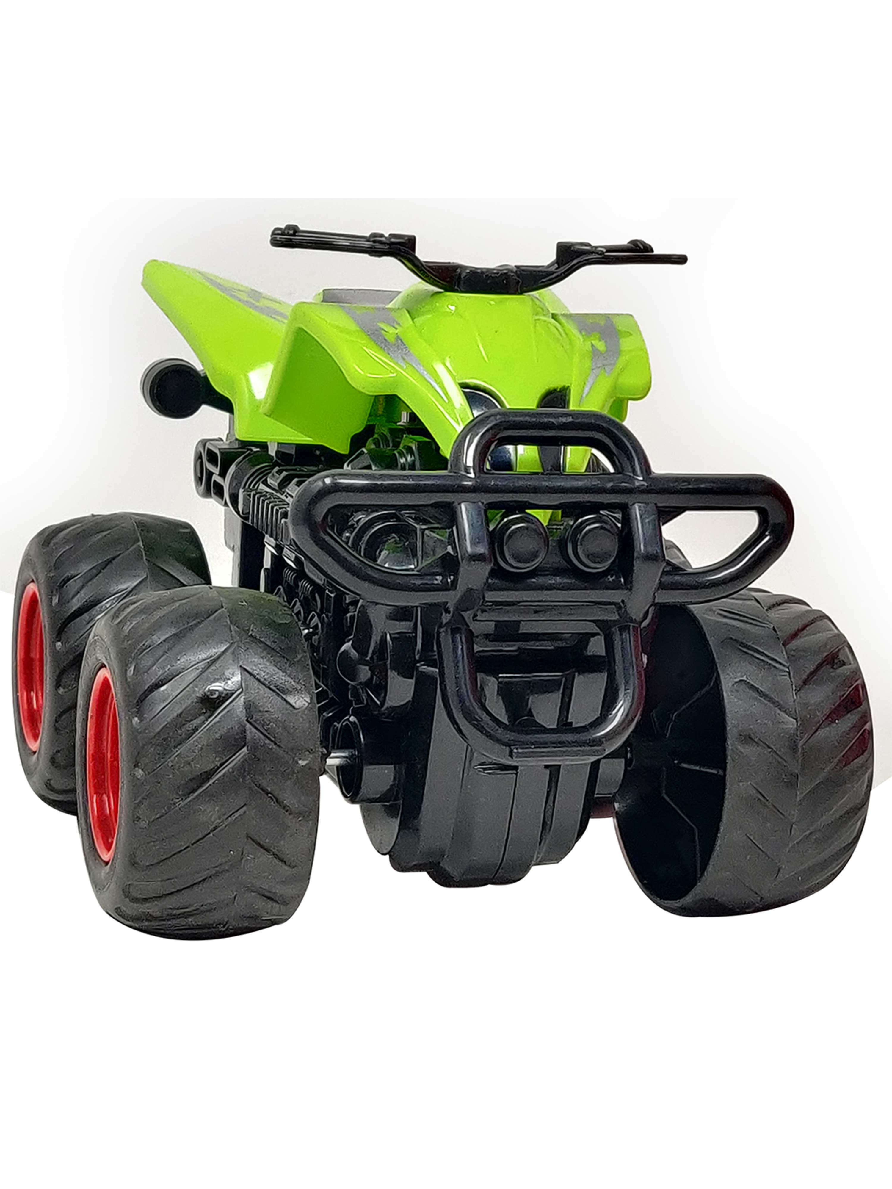Friction Cars-Motorcycle-Green