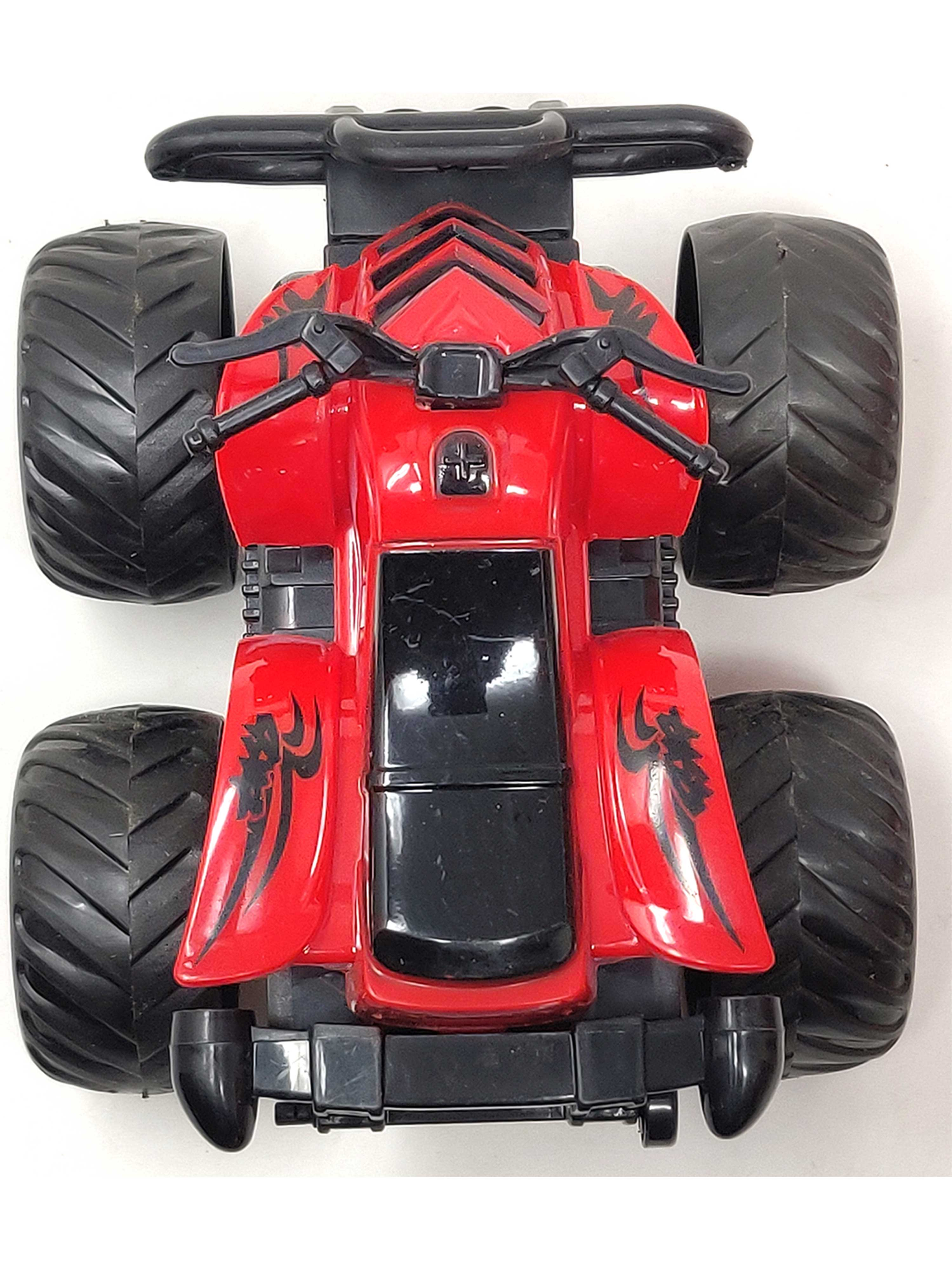 Friction Cars-Motorcycle-Red