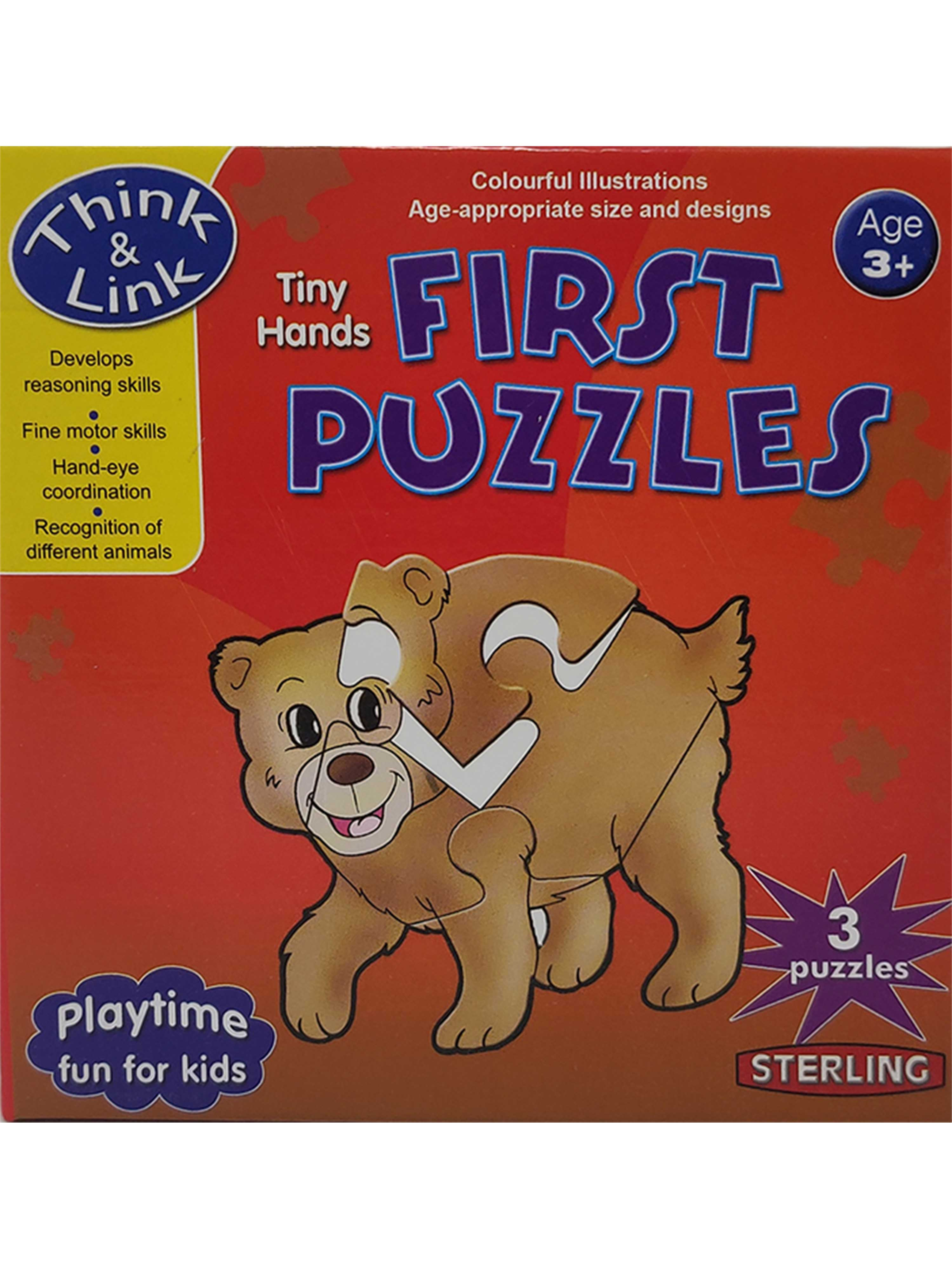 First Puzzles-Animals
