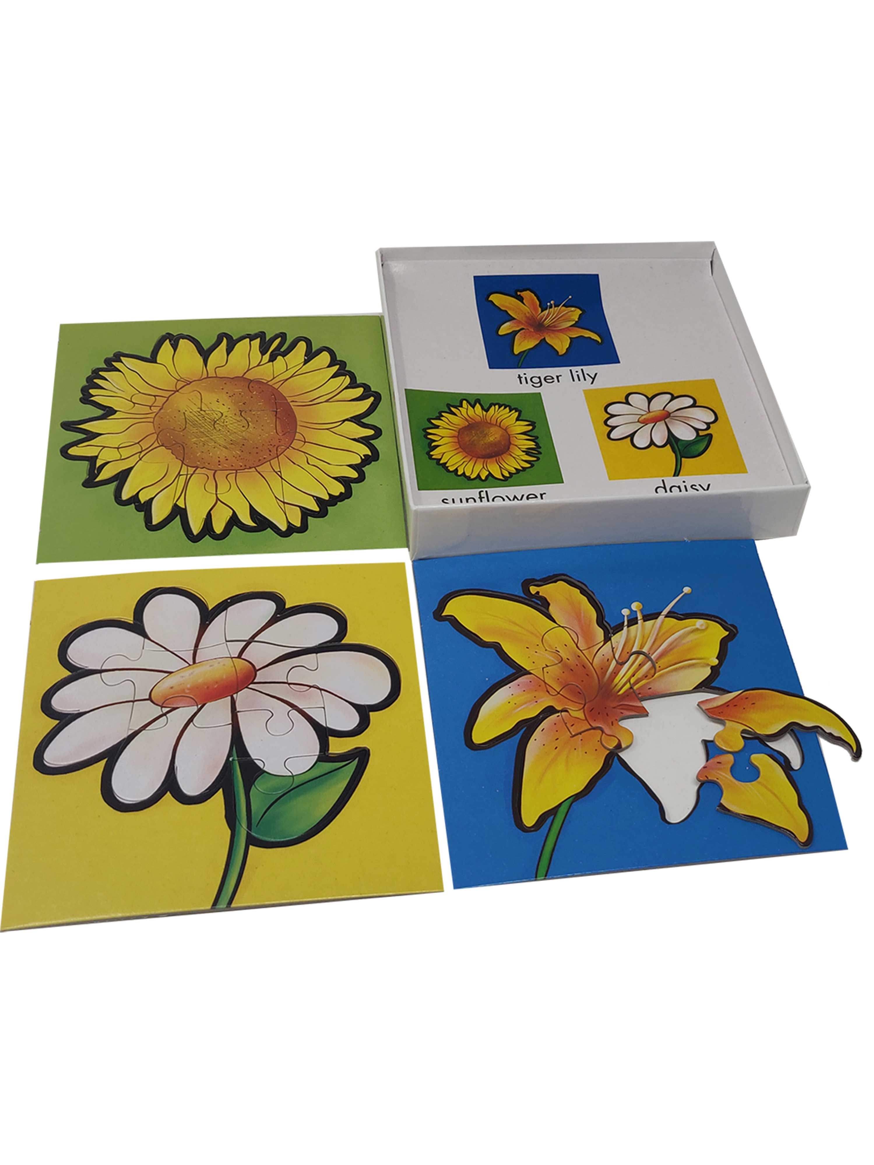 First Puzzles-Flower