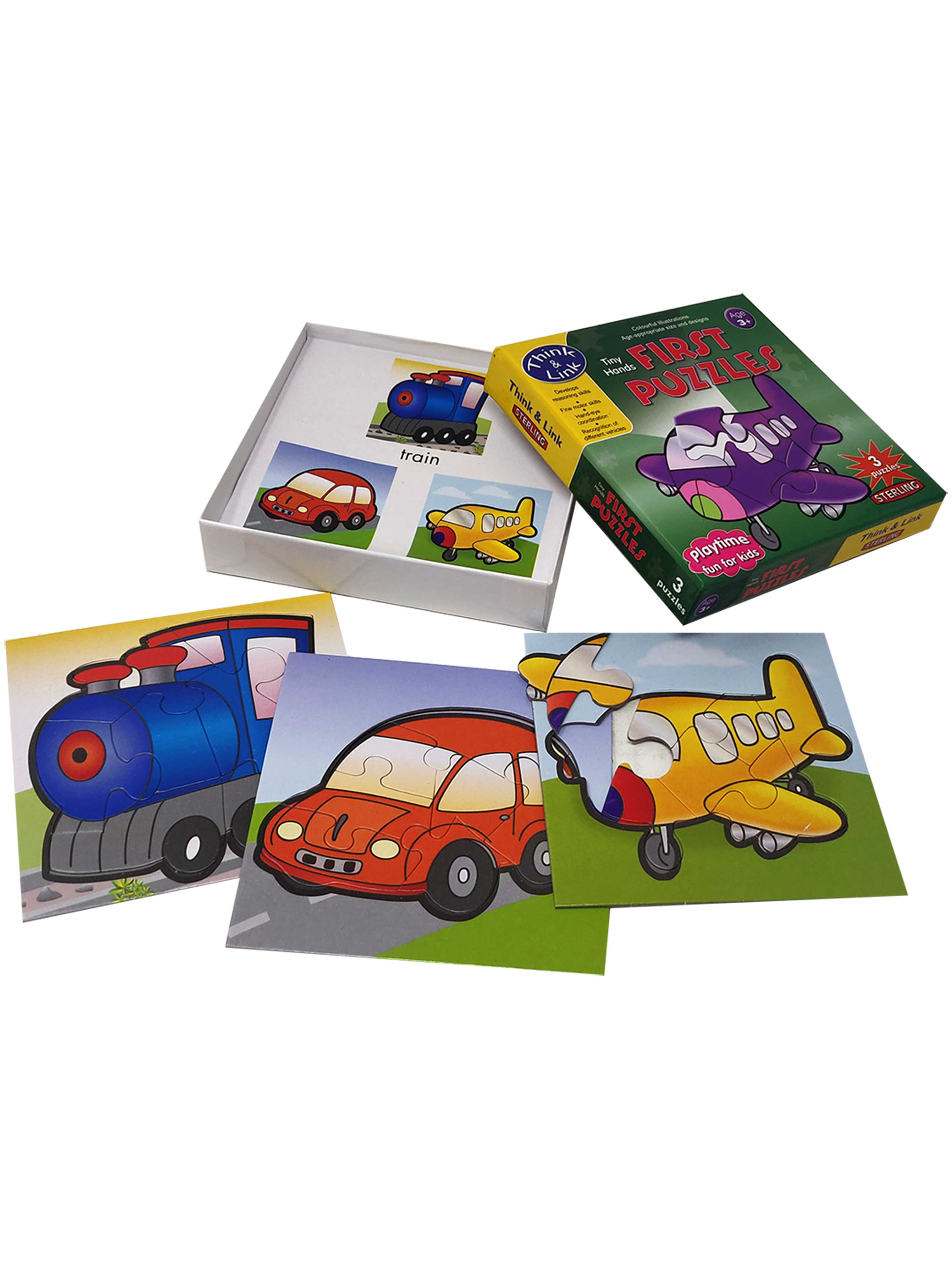 First Puzzles-Vehicles