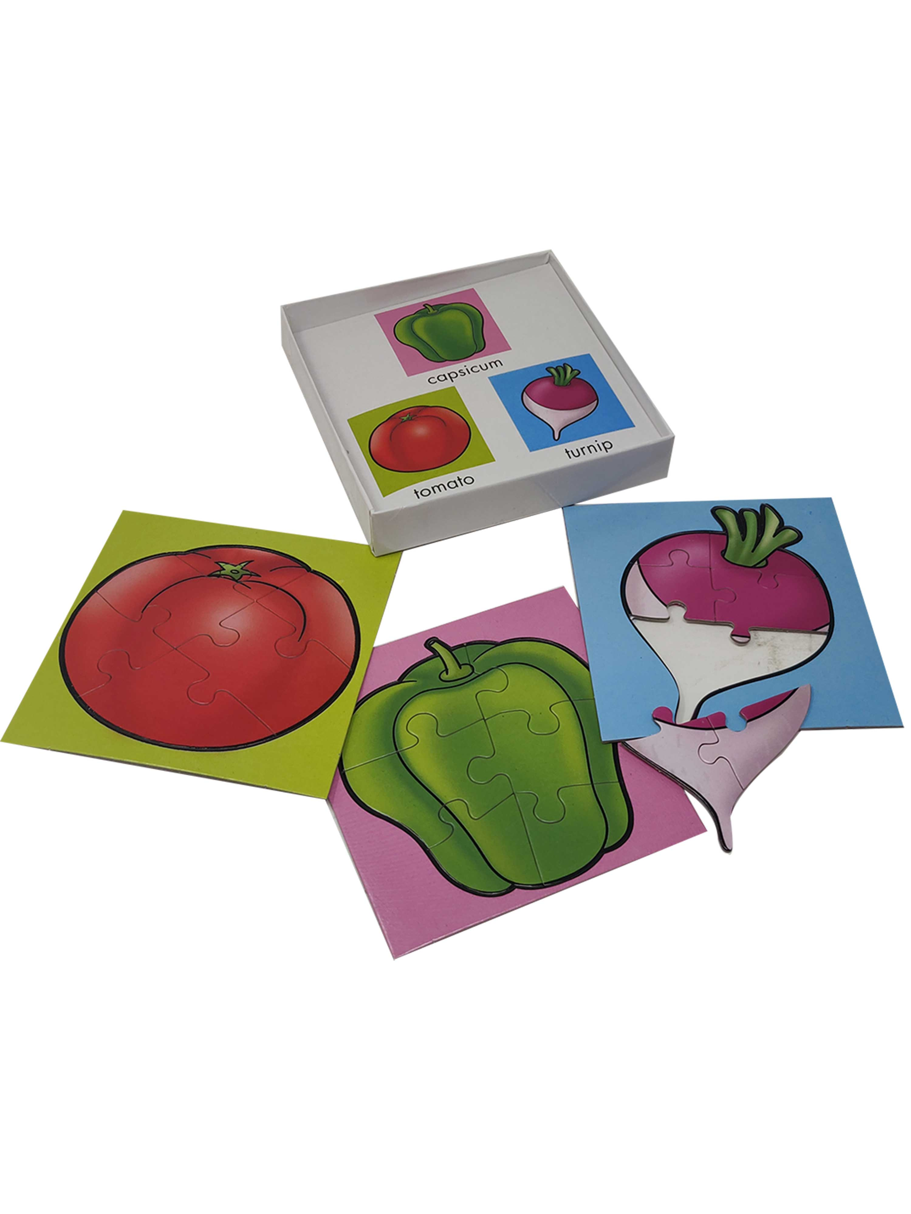First Puzzles-Vegetables