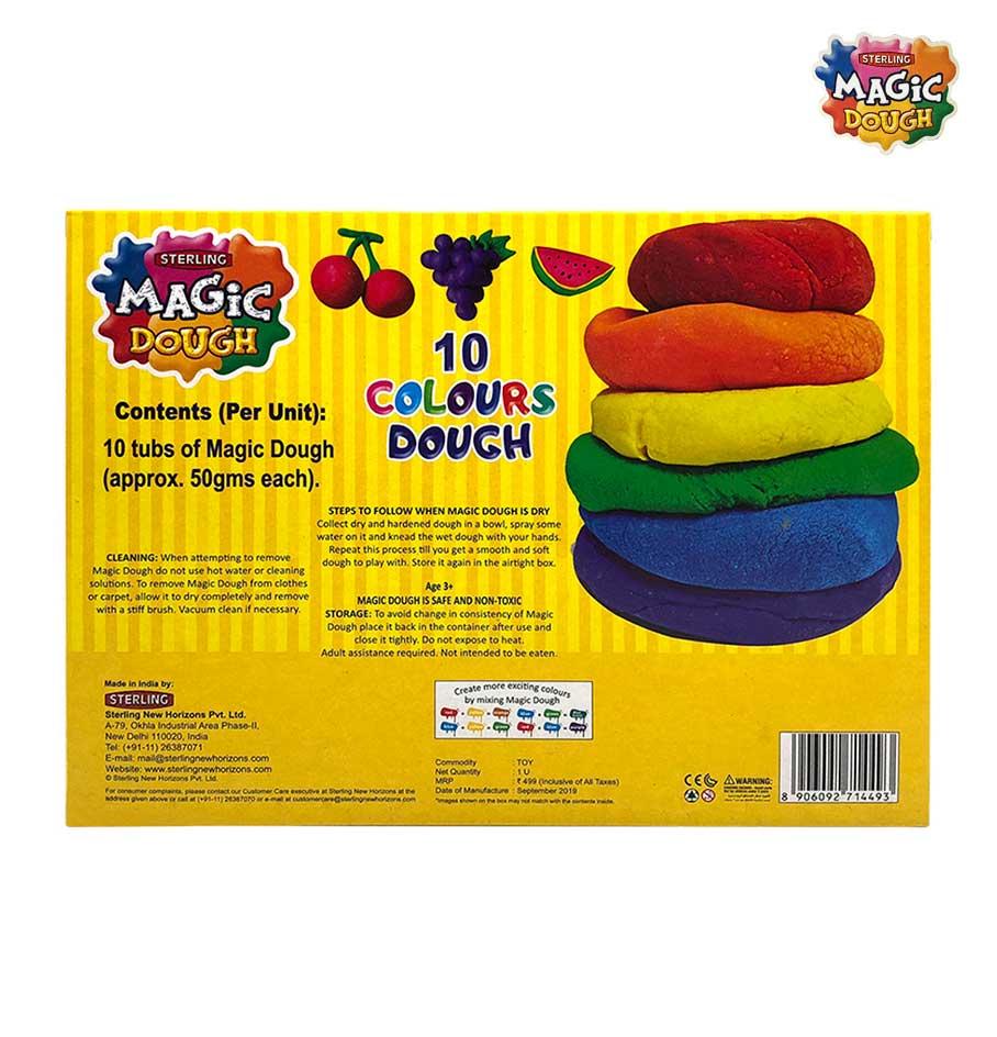 Magic Dough 10 Colours 500 gm