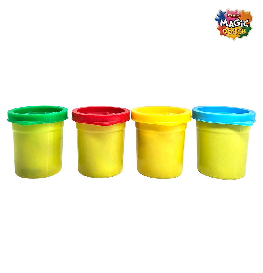 Magic Dough 4 Colours 200 gm