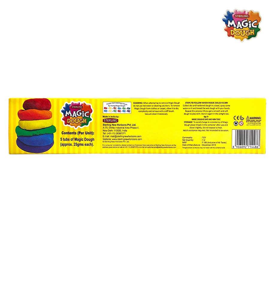 Magic Dough 5 Colours 125 gm