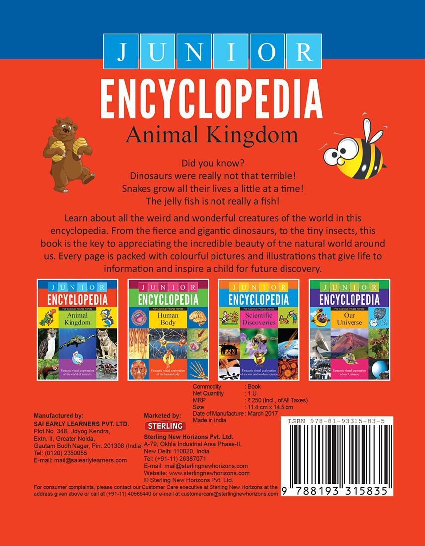 Junior Encyclopedia Animal Kingdom