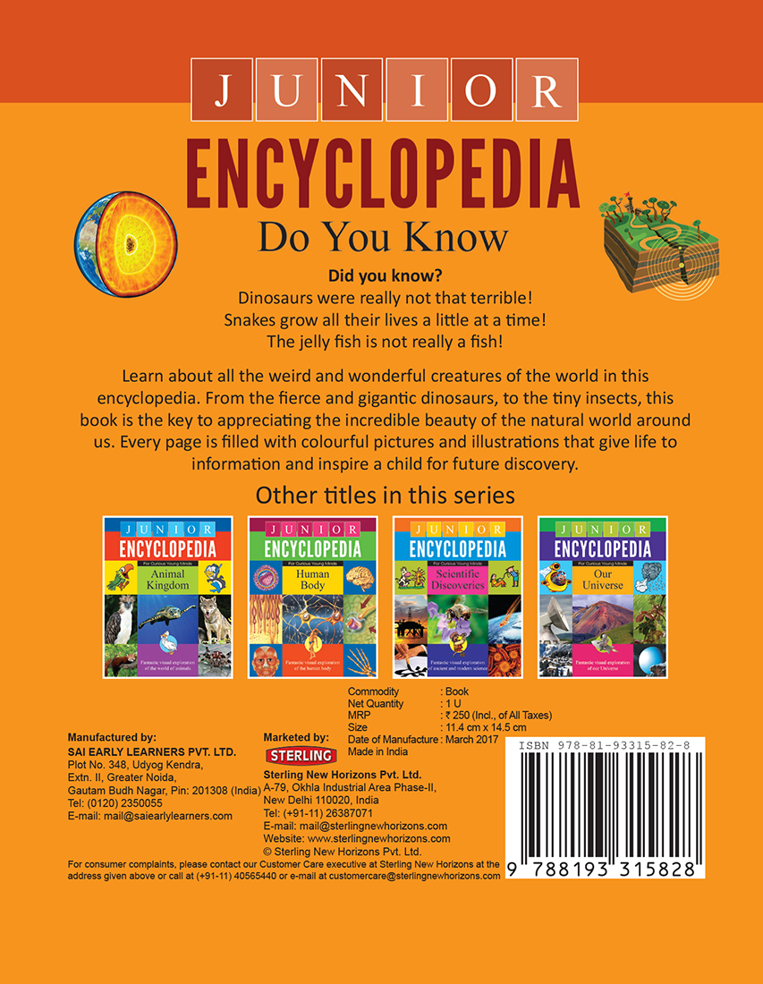 Junior Encyclopedia Do You Know