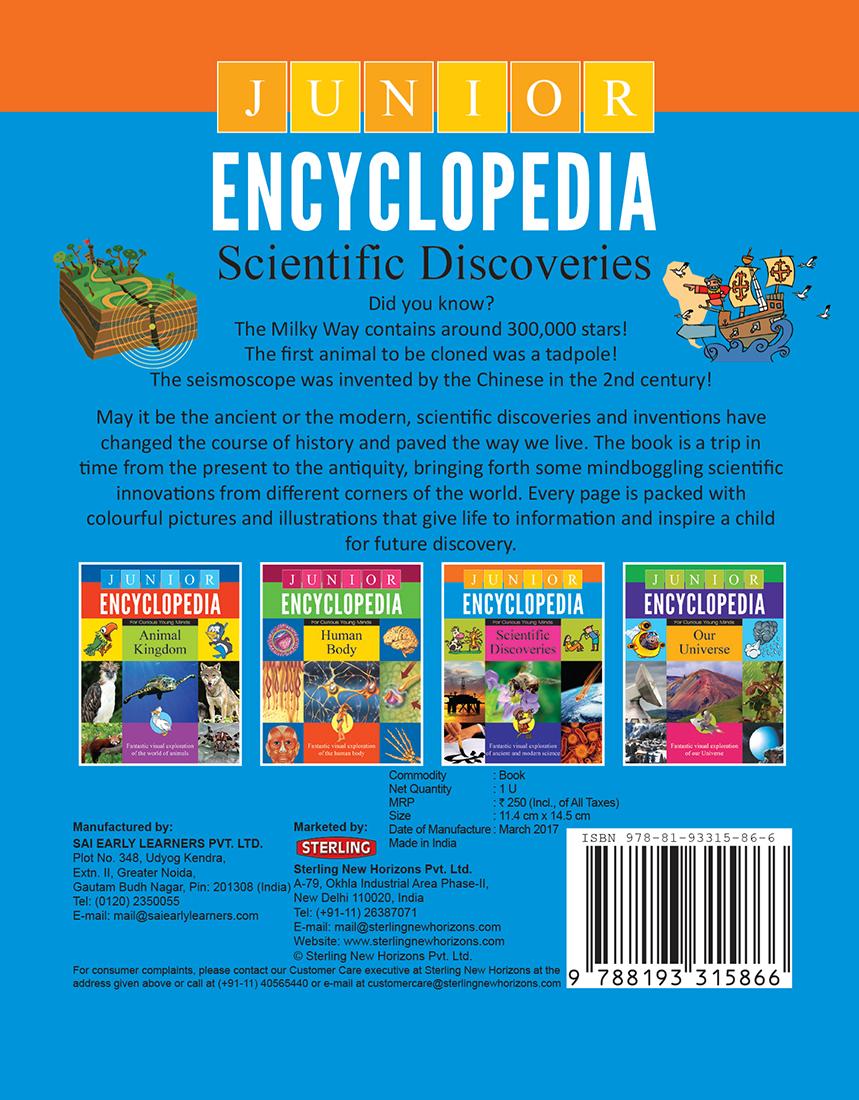 Junior Encyclopedia Scientific Discoveries