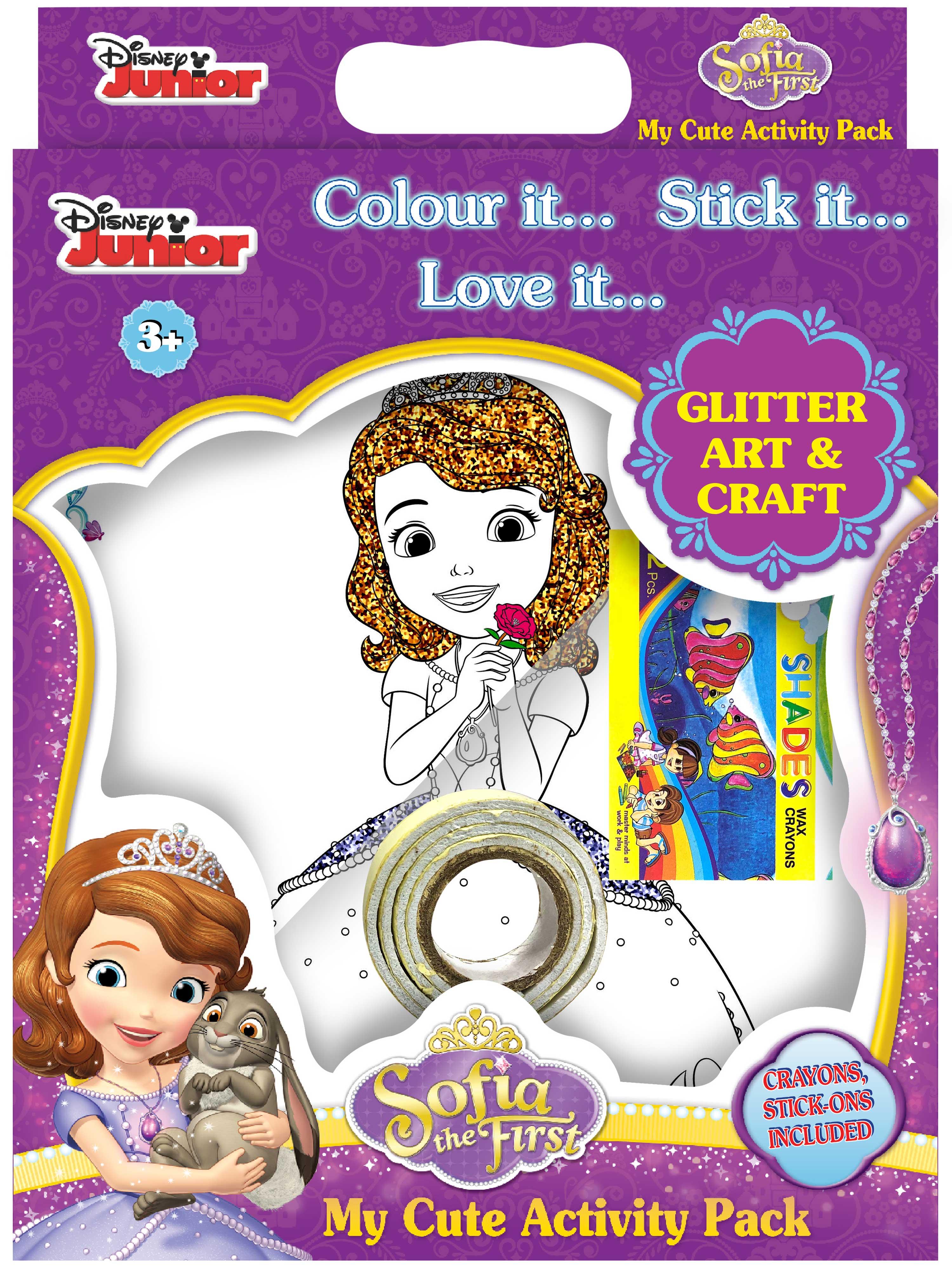 My Cute Activity Pack Sofia Glitter