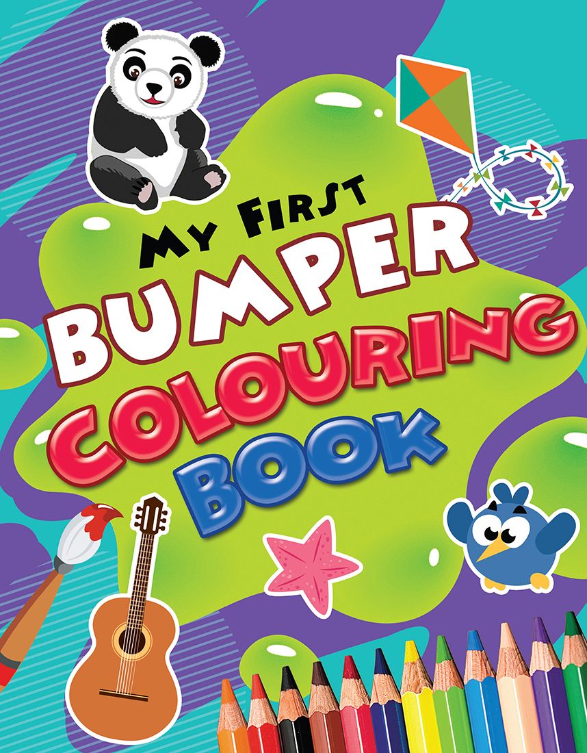 My First Bumper Colouring Book