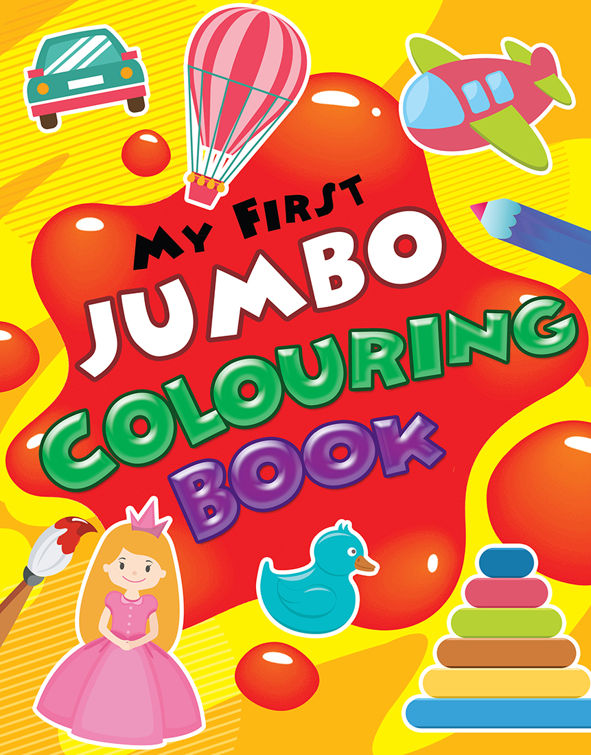 My First Jumbo Colouring Book