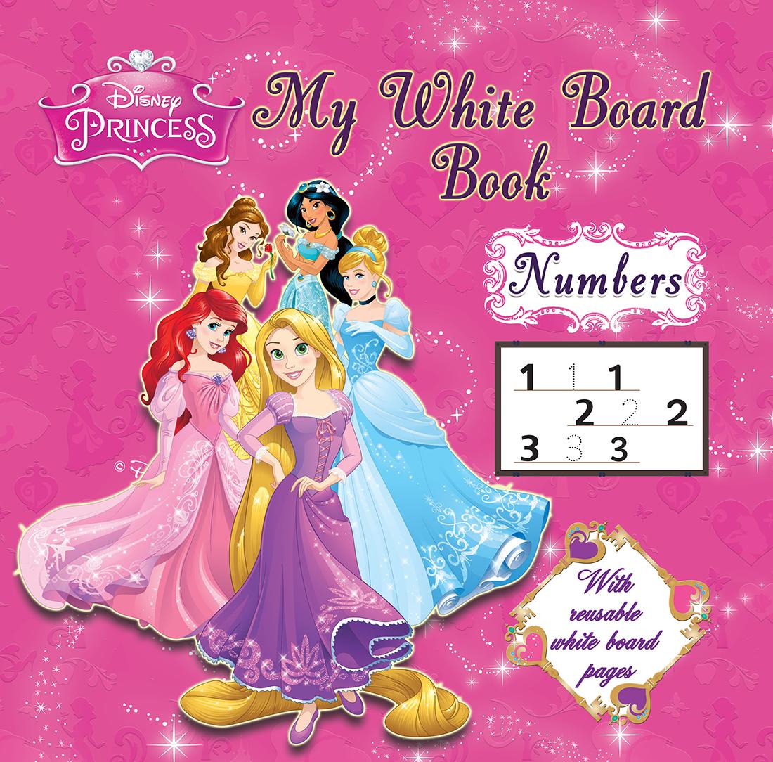 Disney Princess My White Board Book