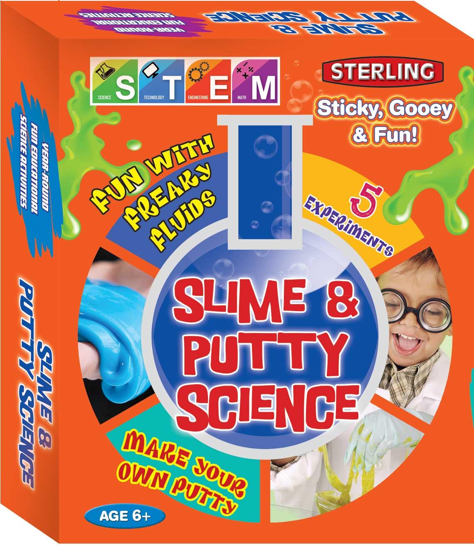 STEM Slime & Putty Science