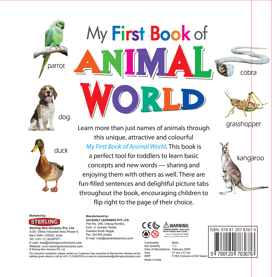 My First Book of Animal World